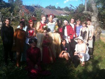 Gruppfoto Toves & Annas bröllop