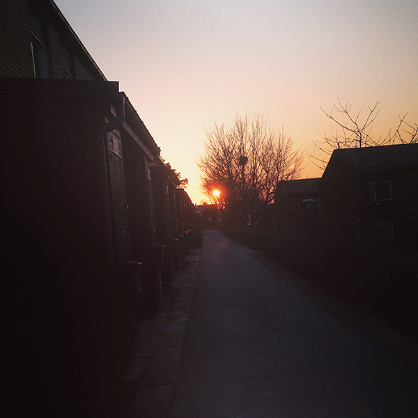 Sunset Rotebro